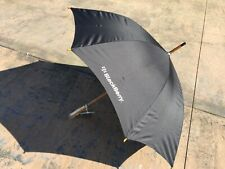 ***SALE*** BlackBerry (RIM) Logo Deluxe Auto-Open Umbrella (BLACK) *Promo*SWAG*