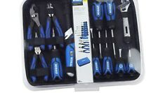 Kobalt 22-Piece Household Tool Set with Hard Case Pliers Screwdrivers Knife kit