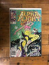 Marvel  Alpha Flight #14 What Lurks in Lake Ontario?