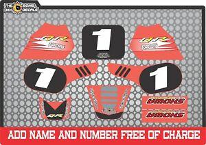 Honda QR50  Replacement graphics full kit decals qr 50 stickers  qr 50