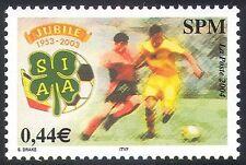 St Pierre & Miquelon 2004 Football/Sports/Games/Footballer 1v (n41470)
