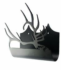 Elk Shed Antler Holder Side Silhouette