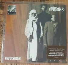 """CLAWFINGER - Two Sides ~7"""" Vinyl Single~ *CLEAR VINYL Limited Edition*"""