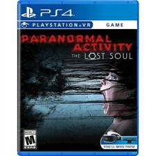 PS4 Paranormal Activity + VR virtual reality NEW Sealed REGION FREE GAME