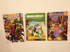 Bionicle Spiderman Transformer Books Easy Read