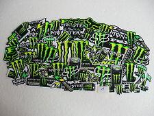 50x Monster Aufkleber Stickers Racing Motorrad Biker Rennsport Motorcross Tuning