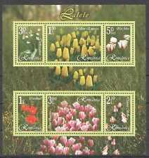 RM289 2006 ROMANIA TULIPS FLOWERS FLORA NATURE BL373 MNH