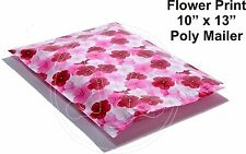 New listing (60) 10 X 13 Flower Pansy Rose Flower Designer Mailers Poly Shipping Boutique
