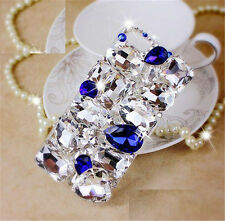 Glitter Luxury Crystal Bling Rhinestone Diamonds hard PC back Case Cover Skin #M
