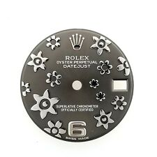 ROLEX SLATE FLORAL DIAL FOR 31MM DATEJUST 178274 178240 178344