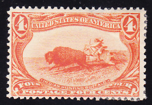 US Scott 287 old 4c Trans-Mississippi Expo M/H/OG CV $110