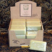Pre de Provence GREEN TEA Case 18 x 150 Gram French Soap Bath Shower Bars Shea