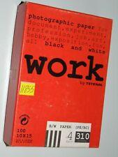 Work BY Tetenal B/W (PE/RC) 4Hard 310Glossy Fotopapier 100 Blatt  10x15