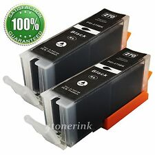 2x PGI-270XL PGI270 XL Black Ink Cartridge For Canon PIXMA TS5020 TS6020 TS8020