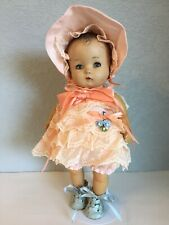 """Unmarked Composition Child Doll 13"""""""