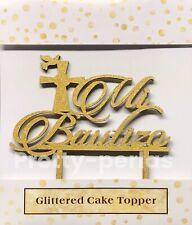 12 Mi Bautizo Cake Topper Glitter Party Decoration Center Pieces BAPTISM Spanish