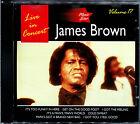 JAMES BROWN LIVE IN CONCERT - MUSIC STAR VOLUME 17 - CD ALBUM [411]