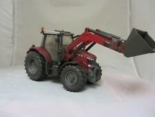 BRITAINS MASSEY FERGUSON 6616  WITH LOADER DIRTY  WEATHERD 43082A1 CONVERSION