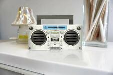 GPO BRONX Mini Bluetooth Speaker Compact Retro Portable + Rechargeable Battery