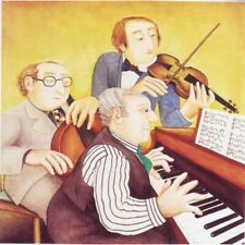 """""""Musicians"""" Beryl Cook Limited Edition Print"""