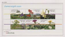 NVPH Nederland Netherlands nr 1973 blok sheet MNH PF 2001 zomerzegels tuinen