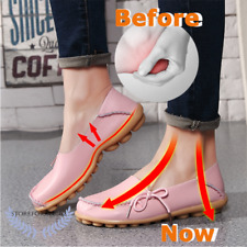 Women Heel Pain Relief Massage Flat Shoes