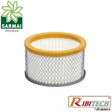 Ricambio filtro HEPA lavabile per aspiracenere Ribitech MINICEN PRCEN011