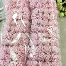 144pcs/package PE Rose Foam Mini Artificial Silk Flower Bouquet DIY Wedding Deco