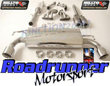 Milltek Golf R32 MK4 Exhaust Manifolds Cats & Cat Back System Resonated GT100