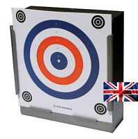 100 x 14cm Top Quality Air Rifle Pistol Shooting 2 Colour Card Targets ( 170gsm