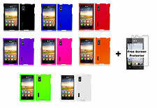 Hard Case Phone Cover for LG Optimus L5 Extreme L40G+Free Screen Protector