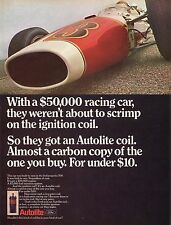 1967 Autolite Ignition Coil Win A $50,000 Gas Turbine Race Car Indy 500 Mag Ad
