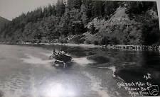 1939-50 Gold Beach Oregon,Rogue River Real Photo Pc