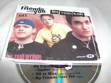 NEW FOUND GLORY-MY FRIENDS OVER YOU CD1 4TRK EU MINT CD