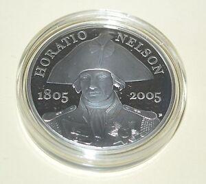 UK - 2005 Horatio Nelson 1805 - 2005 - £5 Coin Celebration 200th Anniversary
