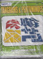 The Puzzling World Tangrams & Pentominoes Gr 3-9 Active Learning Series #0047