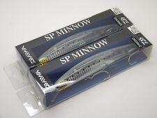 Daiwa Salt Pro SP Minnow Striper SINKING Lure DSPM15S41 Clear Glow Ghost Lot 2