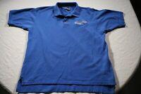Vintage St. Louis Blues Polo Shirt NHL Hockey XL
