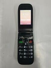 Unlocked Consumer Cellular Black Flip Phone Alcatel A392CC