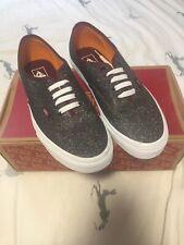 Reducido!!! VANS Brillo auténtico zapatos talla 8.5 Reino Unido Nuevo