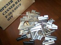P38 Can Opener 25 Pack Made USA Shelby Army Military USMC US f Mess Kit Utensil
