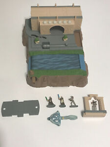 Star Wars Micro Machines - Theed Rapids - Preowned, Complete, VERY RARE!