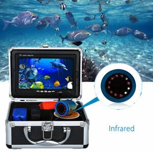 Fischfinder Unterwasser-Eisfischen Infrarot 1000TVL-Kamera LCD 7-Zoll-Display