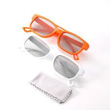 2X Original LG Cinema 3D Glasses AG-F200 for 2011 LG Infinia LED LCD HDTV UH8500
