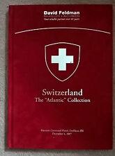 Auction catalogue the Atlantic Classic Switzerland Schweiz stamps postal history