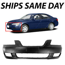 Primered - Front Bumper Cover Fascia for 2006-2008 Hyundai Sonata Sedan 06-08