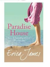 ERICA JAMES ____ PARADISE HOUSE ___ BRAND  NEW __ BEACH COVER ___ FREEPOST UK