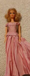 Vintage 1966 Mattel Quick Curl Barbie Doll TNT Blonde Taiwan