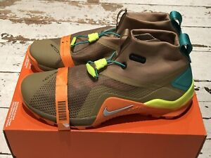 BN NIKE METCON X SF BEECHTREE / PURE PLATINUM UK 11 US 12 EUR 46 shoe trainer