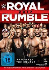 WWE Royal Rumble 2017 [Blu-ray] *NEU* Deutscher Kommentar Deutsch Goldberg, Cena